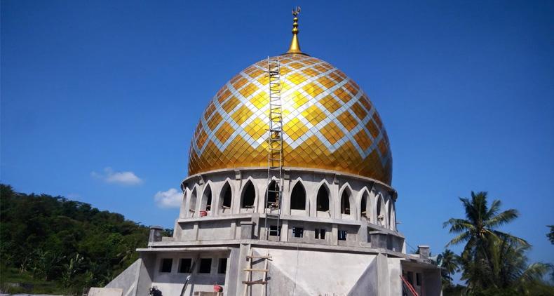 Kontraktor Kubah Masjid Makassar