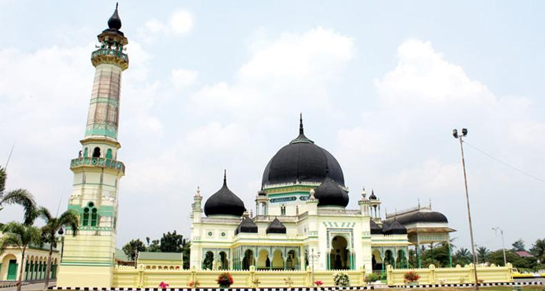 Kontraktor Kubah Masjid Kampung Tengah